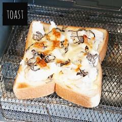オーブントースター こんがり倶楽部 EQ-AG22-BA(ブラック) | 象印(トースター)を使ったクチコミ「おはようございます  今日の朝ごはん 塩…」