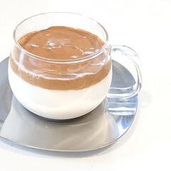 キントー カップ ユニティ ガラス S 8290 | キントー(コップ、グラス)を使ったクチコミ「こんばんは  今日の朝に飲んだダルゴナコ…」
