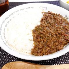 ハウス バーモントカレー 甘口 230g×3個(その他食品)を使ったクチコミ「今日の晩御飯 夏野菜のキーマカレー  ピ…」
