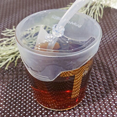 ビタットマグ クリアストロー付き | 西松屋(ベビー食器)を使ったクチコミ「最近愛用している ビタットマグ  コップ…」
