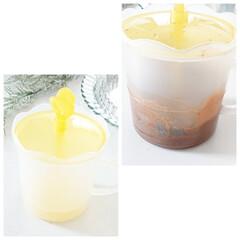 キントー カップ ユニティ ガラス S 8290   キントー(コップ、グラス)を使ったクチコミ「こんばんは  最近流行りの ダルゴナコー…」(3枚目)
