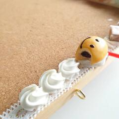 粘土雑貨/フェイクスイーツ作家ねんどぶ/手作り/ねんどぶ/ハンドメイド ねんどぶの看板として長い間、頑張ってくれ…(1枚目)