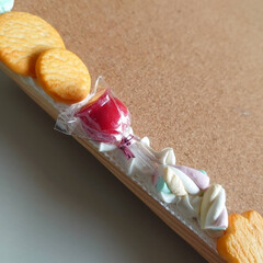 粘土雑貨/フェイクスイーツ作家ねんどぶ/手作り/ねんどぶ/ハンドメイド ねんどぶの看板として長い間、頑張ってくれ…(3枚目)