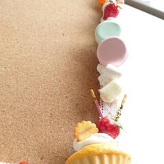 粘土雑貨/フェイクスイーツ作家ねんどぶ/手作り/ねんどぶ/ハンドメイド ねんどぶの看板として長い間、頑張ってくれ…(2枚目)