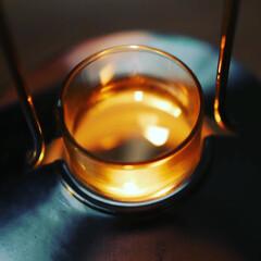 キャンプ/カインズホーム/ランタン/インテリア/ライフスタイル/暮らしを楽しむ/... Bronze candle lanter…(2枚目)