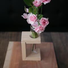 カフェ板/定規/観葉植物のある暮らし/すのこリメイク/ローテーブル/スマホスピーカー/... 最近の簡単DIy✨を載せておきます。 暇…(6枚目)