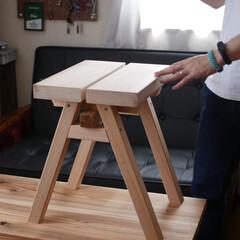 カフェ板/定規/観葉植物のある暮らし/すのこリメイク/ローテーブル/スマホスピーカー/... 最近の簡単DIy✨を載せておきます。 暇…(3枚目)