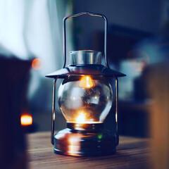 キャンプ/カインズホーム/ランタン/インテリア/ライフスタイル/暮らしを楽しむ/... Bronze candle lanter…(1枚目)